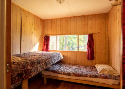 Chambre à coucher Chalet 5