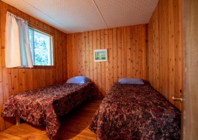 Chambre avec lits Chalet La Baie