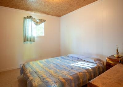 Chambre lit double Chalet Le Maxim